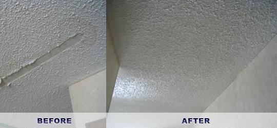 Looking for stucco ceiling repair the ceiling dr will help call 705 788 9474 for Interior stucco ceiling repair